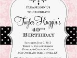 Free Printable Birthday Party Invitations for Adults Adult Chandelier Birthday Invitation Printable Any