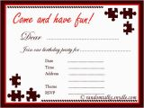 Free Printable Birthday Party Invitations for Adults Printable Birthday Party Invitation for Adult