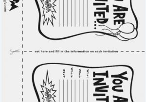 Free Printable Black And White Birthday Invitations