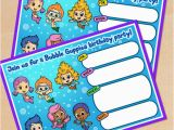 Free Printable Bubble Guppies Birthday Invitations Free Printable Bubble Guppies Movie Birthday Invitation
