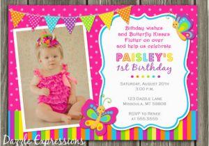 Free Printable Butterfly Birthday Invitations Invites