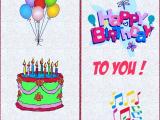 Free Printable Children S Birthday Cards Free Printable Happy Birthday Cards Images and Pictures