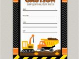 Free Printable Construction Birthday Invitations Free Construction Birthday Party Printables Luvibee Kids