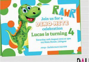 Free Printable Dinosaur Birthday Invitations 15 Dinosaur Birthday Invitations Free Psd Vector Eps