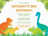 Free Printable Dinosaur Birthday Invitations 17 Dinosaur Birthday Invitations How to Sample Templates
