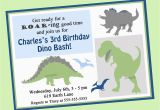 Free Printable Dinosaur Birthday Invitations Dinosaur Birthday Invitation Printable or Printed with Free