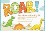 Free Printable Dinosaur Birthday Invitations Dinosaur Birthday Party Invitations Bagvania Free