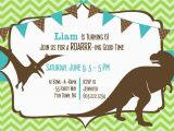 Free Printable Dinosaur Birthday Invitations Dinosaurs Invitation for Birthday Best Party Ideas