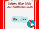 Free Printable Dr Seuss Birthday Invitations Dr Seuss Birthday Invitation Free Template 2 Invitations