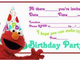 Free Printable Elmo Birthday Invitations Template Elmo Birthday Party Invitations Ideas Bagvania Free