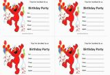 Free Printable Elmo Birthday Invitations Template Elmos Invitation Free Printable orderecigsjuice Info