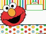 Free Printable Elmo Birthday Invitations Template Free Printable Elmo Birthday Invitations Bagvania Free