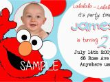 Free Printable Elmo Birthday Invitations Template Free Printable Elmo Birthday Invitations with Photo Free