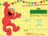 Free Printable Elmo Birthday Invitations Template Sesame Street Birthday Invitations Online Free