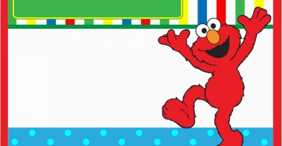 Free Printable Elmo Birthday Invitations Template Start Your Party with Sesame Street Birthday Invitations