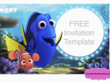 Free Printable Finding Nemo Birthday Invitations Free Printable Finding Dory Invitations Ideas Free