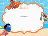 Free Printable Finding Nemo Birthday Invitations Free Printable Finding Nemo Birthday Invitation
