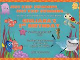 Free Printable Finding Nemo Birthday Invitations Printable Finding Nemo Invitation Plus Free Blank Matching