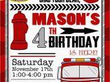 Free Printable Fireman Sam Birthday Invitations Cool Firefighter Birthday Invitation Ideas Free