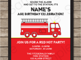 Free Printable Fireman Sam Birthday Invitations Fire Truck Party Invitations Template Fireman Birthday