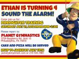 Free Printable Fireman Sam Birthday Invitations Firefighter Birthday Invitation Ideas Bagvania Free