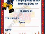 Free Printable Fireman Sam Birthday Invitations Fireman Sam Birthday Party Invitations Invites by Shazian