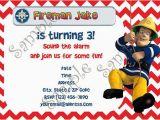 Free Printable Fireman Sam Birthday Invitations Fireman Sam Fireman Sam Invitation Fireman Sam Birthday