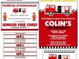 Free Printable Fireman Sam Birthday Invitations Firetruck themed Birthday Party with Free Printables How