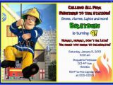Free Printable Fireman Sam Birthday Invitations Shops Birthdays and Digital Art On Pinterest