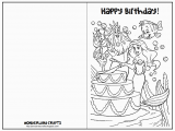 Free Printable Foldable Birthday Cards 6 Best Images Of Printable Folding Birthday Cards