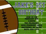 Free Printable Football Invitations for Birthday Party Free Printable Boys Birthday Invitations Drevio