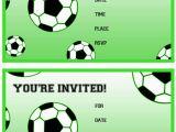 Free Printable Football Invitations for Birthday Party Free Printable soccer Birthday Party Invitations