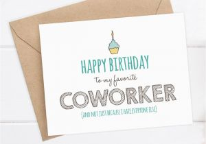 Free Printable Funny Birthday Cards For Coworkers Card Coworker