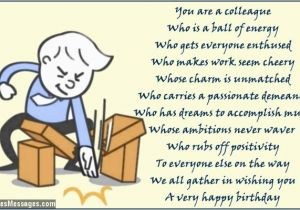Free Printable Funny Birthday Cards For Coworkers Poems Colleagues Page 2 Wishesmessages Com
