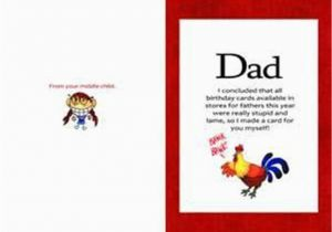image about Free Printable Birthday Cards for Dad named Absolutely free Printable Amusing Birthday Playing cards for Father Humorous Birthday