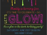 Free Printable Glow In the Dark Birthday Party Invitations 20 Epic Glow In the Dark Party Ideas Pretty My Party