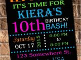 Free Printable Glow In the Dark Birthday Party Invitations Glow Party Invitations Free Printable