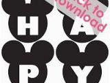 Free Printable Halloween Happy Birthday Banner Free Mickey Mouse Happy Birthday Banner Printable Minnie