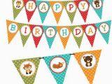 Free Printable Halloween Happy Birthday Banner Halloween Pumpkin Happy Birthday Banner Instant Download