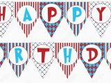 Free Printable Happy Birthday Banner Templates Birthday Banner Template Printable Vastuuonminun