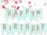 Free Printable Happy Birthday Banner Templates I Should Be Mopping the Floor Free Printable Happy