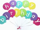 Free Printable Happy Birthday Banner Templates Pdf Happy Birthday Banner Diy Template Balloon Birthday