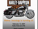Free Printable Harley Davidson Birthday Cards Free Printable Motorcycle Invitations Harley Birthday