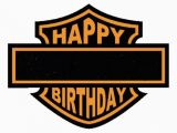 Free Printable Harley Davidson Birthday Cards Happy Quot Blank Quot Birthday Harley Davidson Party Pinterest
