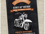 Free Printable Harley Davidson Birthday Cards Motorcycle Biker Birthday Invitation Vintage Motorcycle