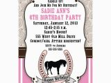 Free Printable Horse Birthday Party Invitations Free Printable Horse Birthday Invitation