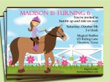 Free Printable Horse Birthday Party Invitations Free Printable Horse Party Invitation