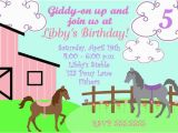 Free Printable Horse Birthday Party Invitations Free Printable Horse Party Invites Horse Party