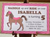 Free Printable Horse Birthday Party Invitations Horse Birthday Invitations Best Party Ideas
