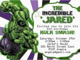 Free Printable Hulk Birthday Invitations Incredible Hulk Birthday Invitations Ideas Bagvania Free